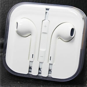 Earbuds for Apple iPhone 5 5S iPod 5 w/ Mic & Volume Remote Headphones Headsets
