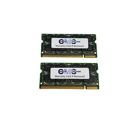 2GB (2x1GB) RAM Memory Compatible with Dell Inspiron 8200 Notebook Series A52 8200 Series Notebooks