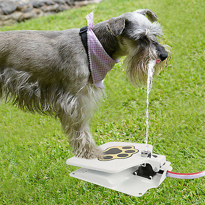 "Durability Trouble-Free Outdoor Dog Pet Drinking Doggie Water Fountain 41"" Hose"