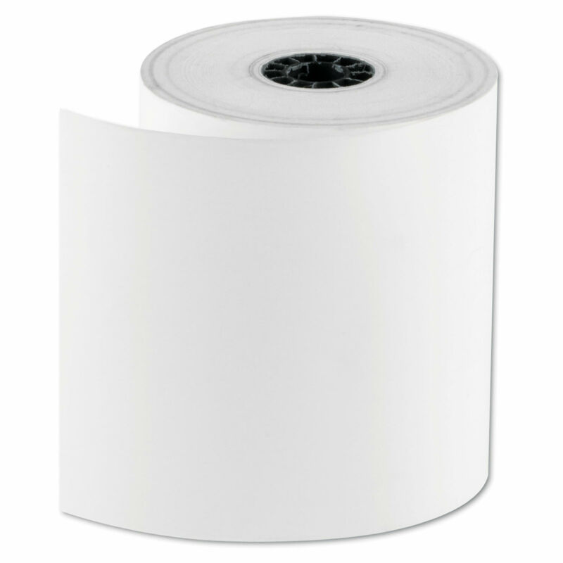 """NATIONAL CHECKING CO. RegistRolls Thermal Point-of-Sale Rolls 3 1/8"""" x 200 ft"""