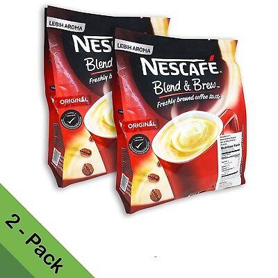 NESCAFE 3 in 1 Original Blend & Brew Instant Coffee 56 sticks (2-pack) ON - Nescafe Blend