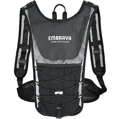 Sports Hydration Pack by Embrava - 2 Liter - Best Insulated Backpack with Water