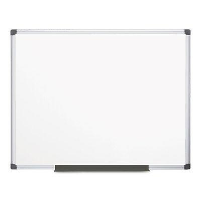 Mastervision Value Melamine Dry Erase Board 48 X 72 White Aluminum Frame