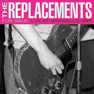 THE REPLACEMENTS FOR SALE: LIVE AT MAXWELL'S 1986 2 X VINYL LP