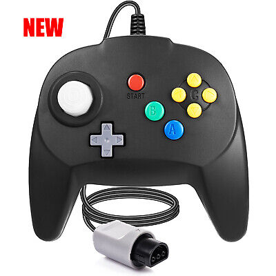 New Version For N64 Controller Game Pad Joystick for 64 Console Plug and Play
