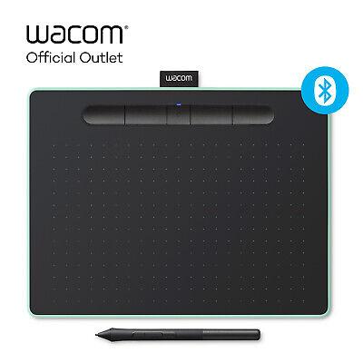 Certified Refurbished Wacom Intuos Medium Wireless Graphics Tablet Pistachio