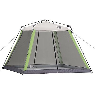 Instant Canopy Screened Shelter Tent Camping Beach BBQ Sport