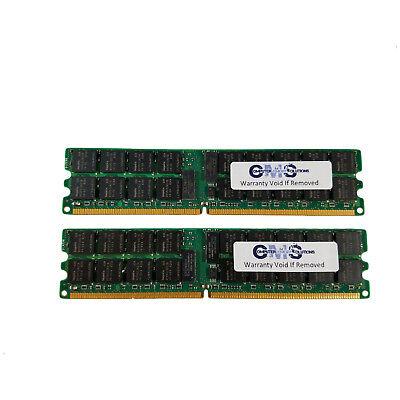 4GB (2x2GB) Memory RAM Compatible Dell PowerEdge 2800 DDR2-PC3200 DUAL RANK B69