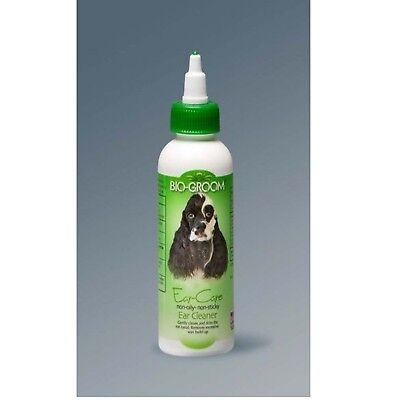 (Bio-Groom Ear Care 4 oz | Ear Cleaner and Wax Remover for Dogs and Cats)