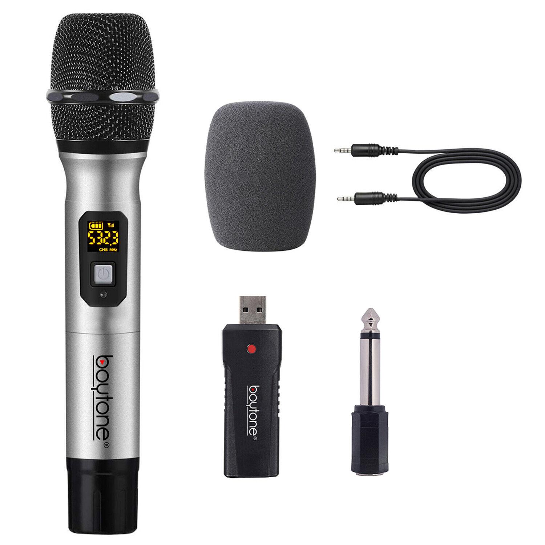 bt 26um dynamic wireless microphone metal handheld