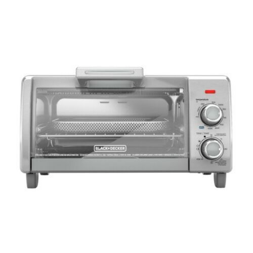 BLACK+DECKER Crisp 'N Bake Air Fry 4-Slice Toaster Oven, TO1787SS NEW FAST SHIP