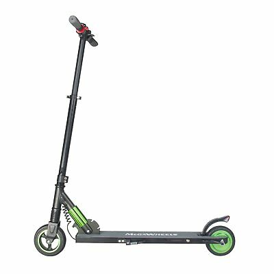 Megawheels Green High Speed Adult Electric Scooter Ultra-Lightweight 2 Wheels