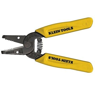 Klein Tools 11047 Wire Strippercutter For 22-30 Awg Solid Wire Yellow