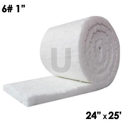 Unitherm Ceramic Fiber Insulation Blanket Roll 6 Density 2300f1x24x25