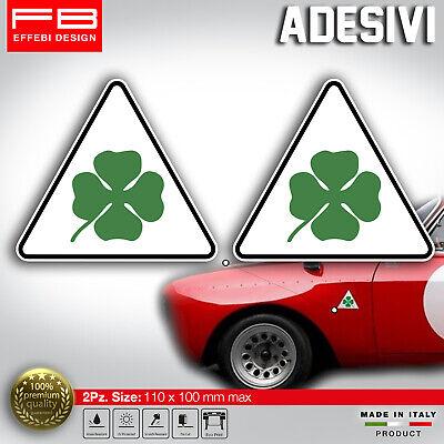 Adesivi Stickers Pegatinas Alfa Romeo Quadrifoglio Verde Giulia GTA Gt Junior