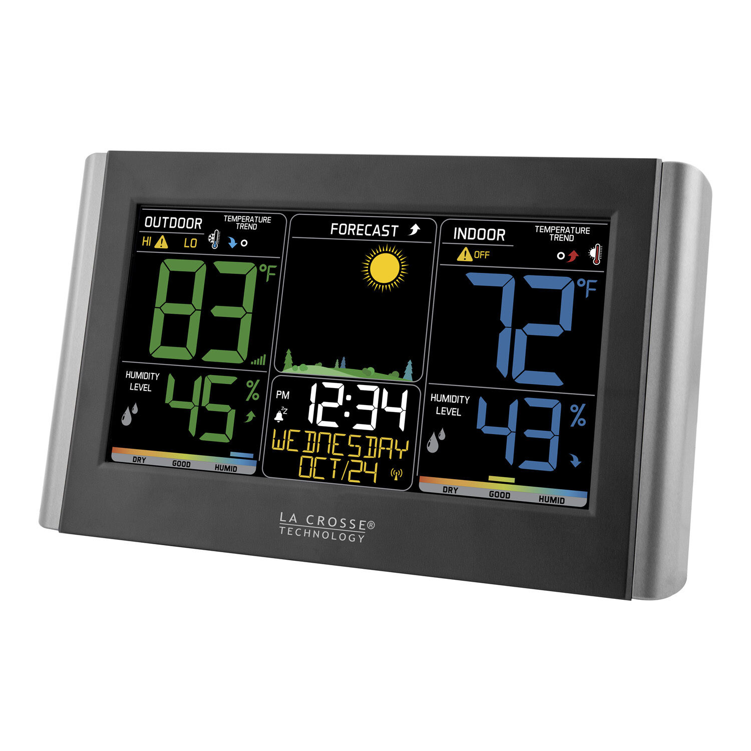 Купить La Crosse Technology C85845 - C85845 La Crosse Technology Wireless Color Weather Station with TX141TH-BV2 NIB
