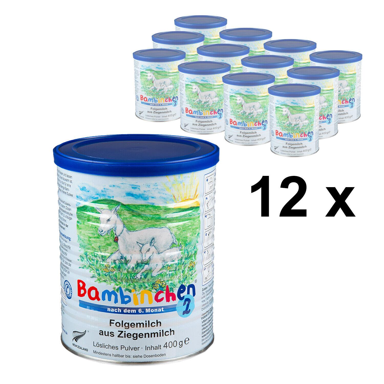 Bambinchen 2 - Babynahrung 7 bis 12 Monate 12x400g (Grundpreis 31,38 Euro/kg)