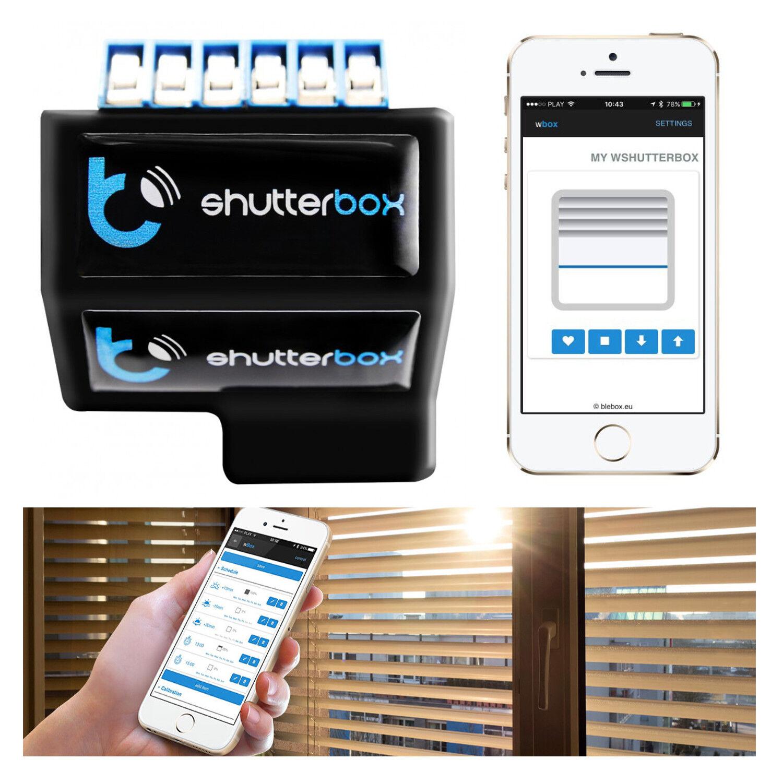 rolladen steuerung smart home shutterbox jalousie. Black Bedroom Furniture Sets. Home Design Ideas