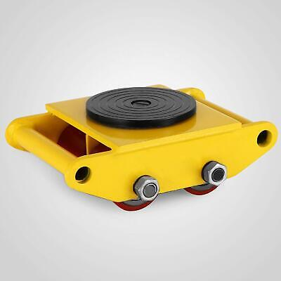 Machinery Mover Skate Dolly Cap 6t13200lbs With 4 Rollers 360rotation