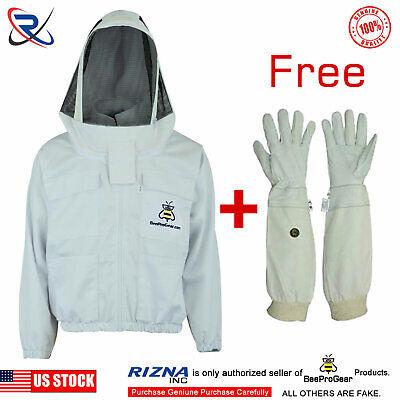 Cotton Bee Beekeeper Beekeeping Jacket Suit Protective Astronaut Veil2xl-bs42