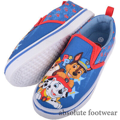 Childrens / Kids Slip On Canvas Paw Patrol Summer Pumps / Trainers / Shoes ()