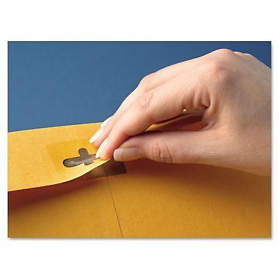 100 Envelopes 10x13 28lb Kraft Shipping Mailing Gummed Business Manila Cleclasp