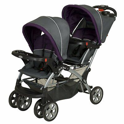 Baby Trend Sit N Stand Double Travel Stroller - Elixer (Open Box)