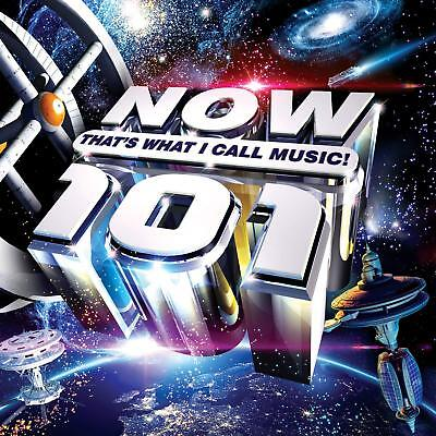 NOW THATS WHAT I CALL MUSIC 101 (Various Artists) 2 CD SET (23rd November 2018)