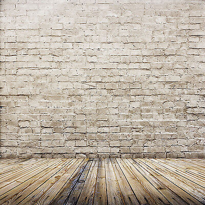 10X10FT Brick Wall Vinyl Photography Backdrop Photo Studio Props Background ZZ44