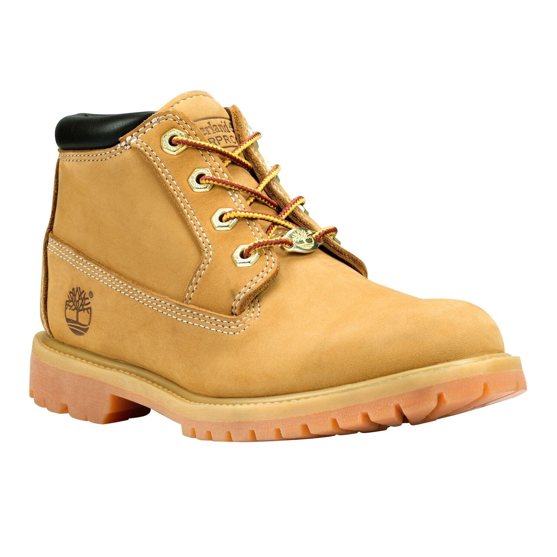 Women's Timberland 4Eye Waterproof Nellie Chukka Double Boots Wheat Nubuck 23399