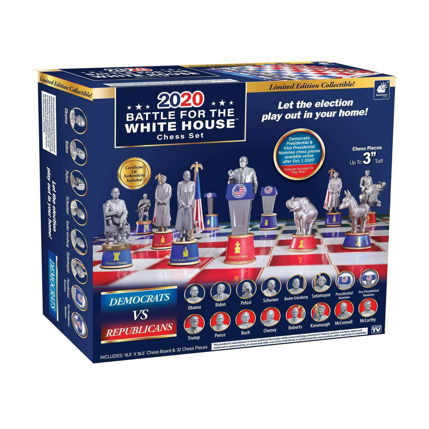 battle for the white house collectible edition