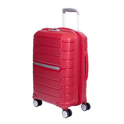 Samsonite Octolite I72000004 Red Small Polypropylene 8 Wheels Pockets Luggage