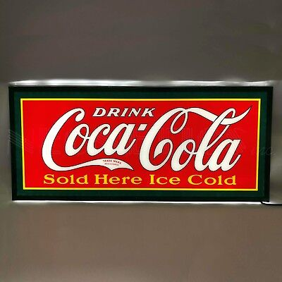 New Drink Coca Cola LED wall lamp sign 1922 logo Coke Soda Pop Neon Machine