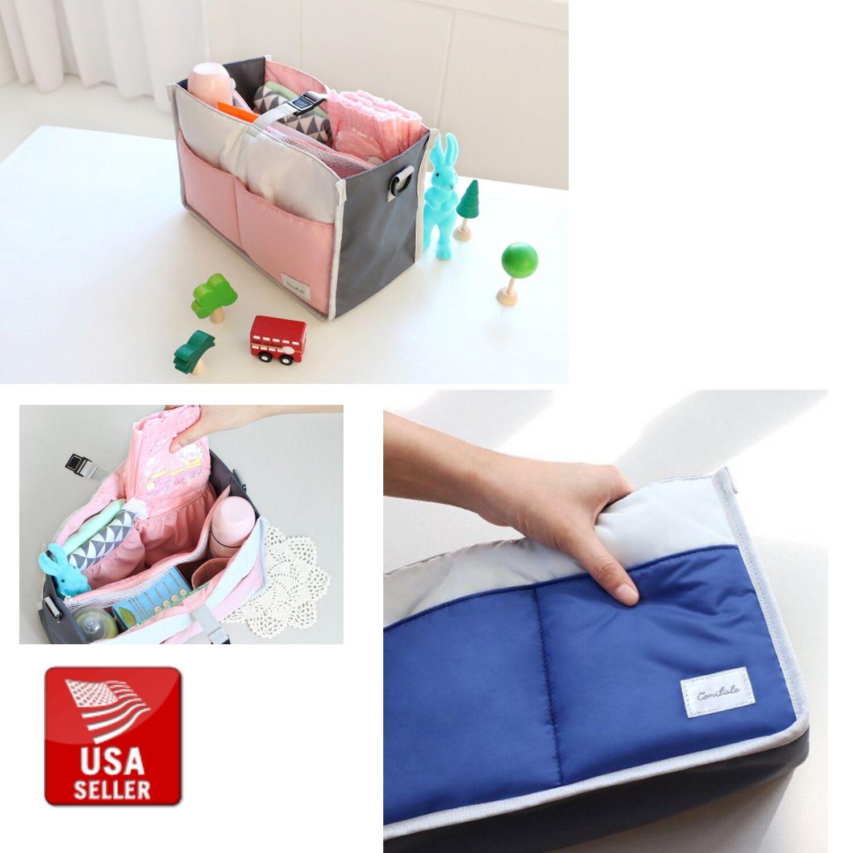 Conitale Diaper Bag Insert Stroller Organizer Pram Handle &
