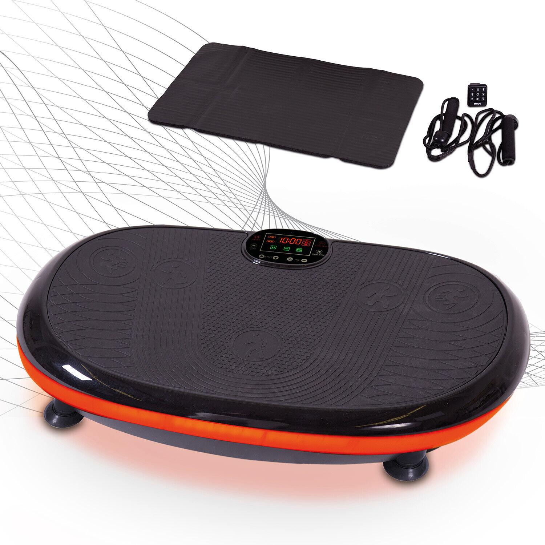 Vibrationsplatte Curved 4D  inkl. Expanderbänder & Bodenschutzmatte