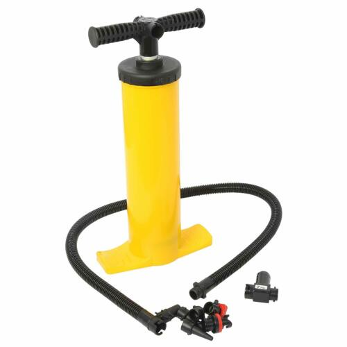 double action hand pump for watersports inflatable