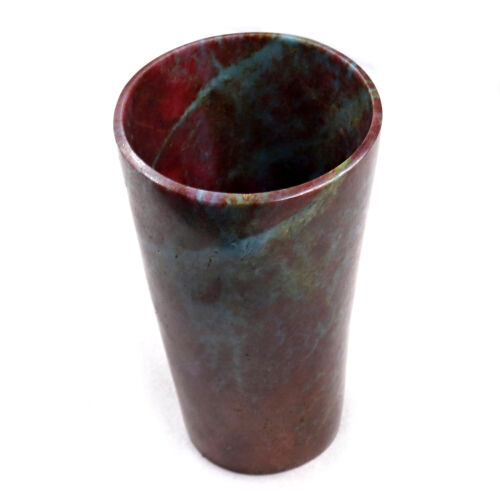 HAND CARVED 1084 CARATS NATURAL RED RUBY CARVED GLASS FOR HOME DECOR