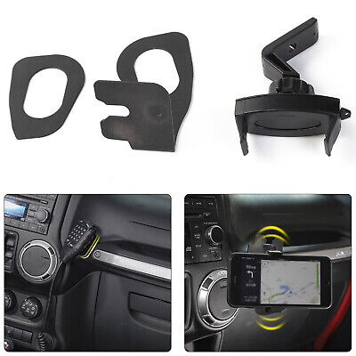Car Cell Phone Bracket Dash Mount Holder For Jeep Wrangler JK 07-17 Accessories ()