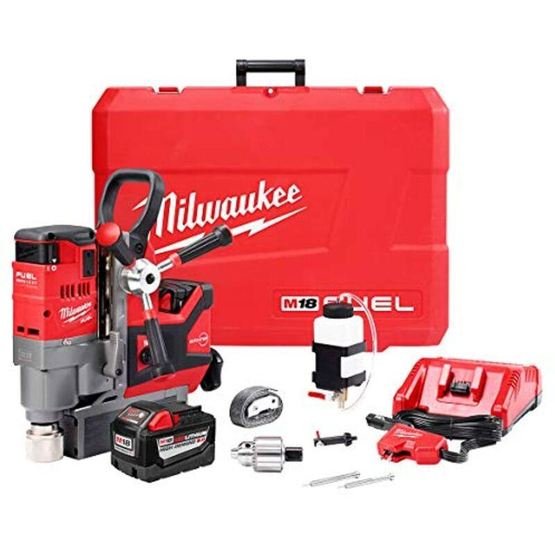 "MILWAUKEE 2788-22HD M18 1-1/2"" Lineman Magnetic Drill Kit"