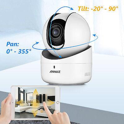 720P Mini HD Wlan IP IR Netzwerk Kamera Funk Überwachungskamera Webcam Wifi