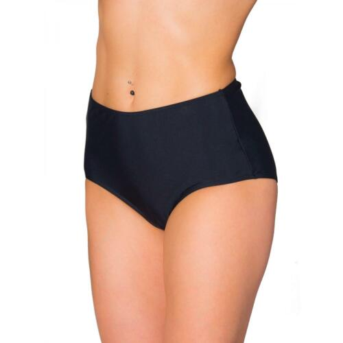 Aquarti Damen Bikinihose mit Hohem Bund