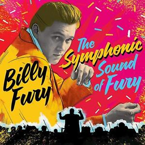 BILLY FURY THE SYMPHONIC SOUND OF FURY CD (Released August 17th 2018)