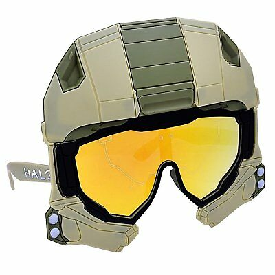 Halo Sun-Staches Master Chief Character Shades - Simpsons Halloween Characters