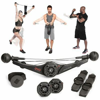 OYO Personal Gym - Full Body Portable Gym for Home Office & Travel Fitness