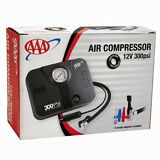 300 PSI 12V DC Portable Air Compressor Car Tire Inflator Inflatables Pools Pump
