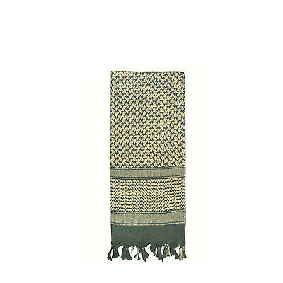 """Shemagh Tactical Military Arab Desert Army Scarf 42""""x42"""" Normal Weight (Foliage)"""