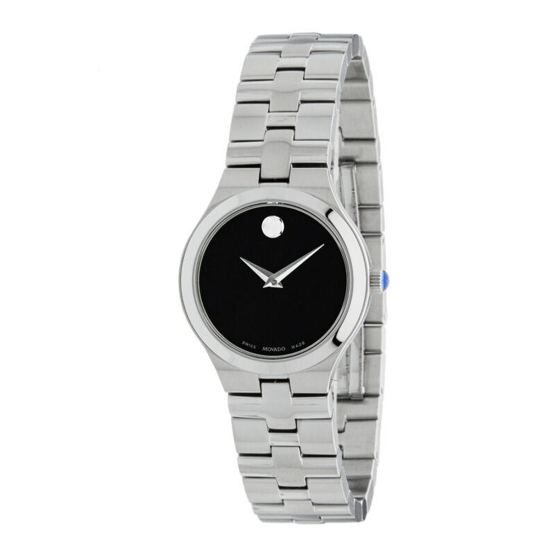 Movado 0607444 Women Juro Black Quartz Watch