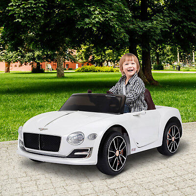 Coche Eléctrico para Niño 3-8 Años Bentley Batería 6V Control Remoto Carga 30kg