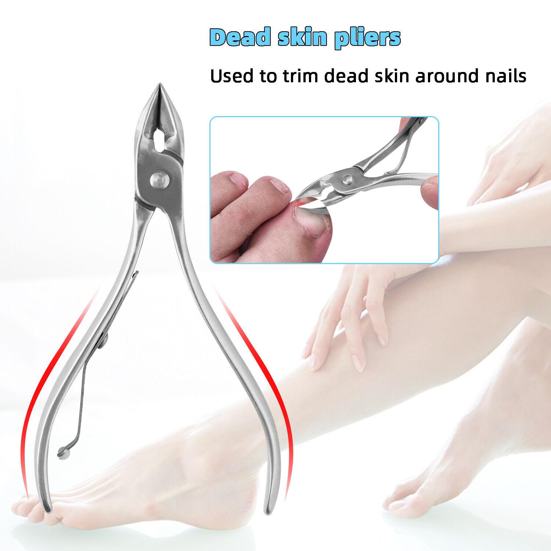 23 PCS Set Pedicure Kit Foot File Nail Care Tool Kit Rasp Callus Remover Scraper Health & Beauty