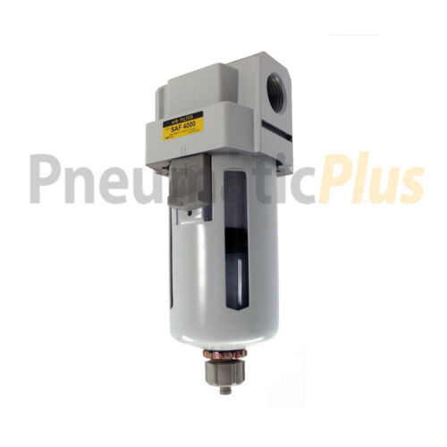 """FactoryDirect Compressed Air Compressor Particulate Filter 1/2"""" NPT Manual Drain"""